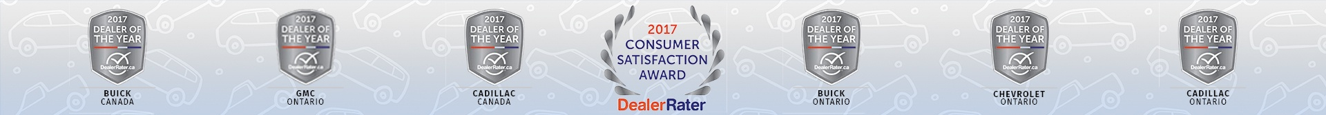 2017 Consumer Satisfaction Award DealerRater